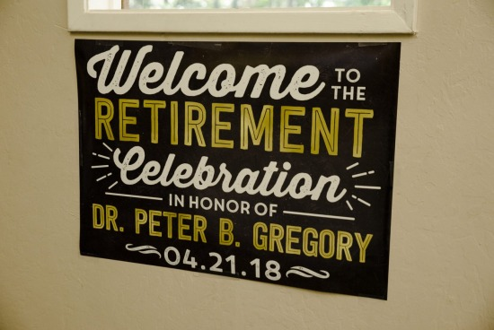 Dr. Gregory's Retirement Party - Event